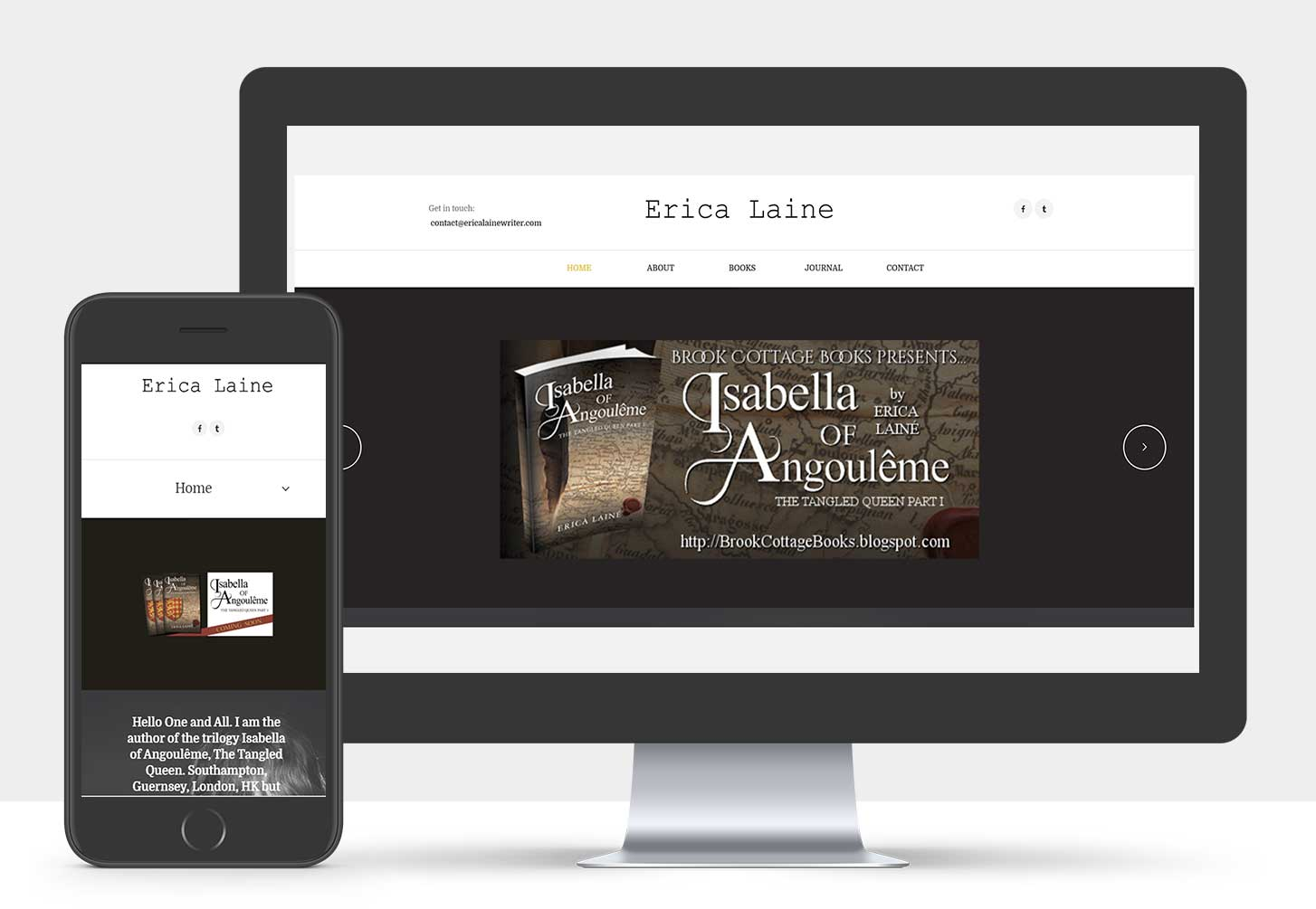 Author WordPress Website Design