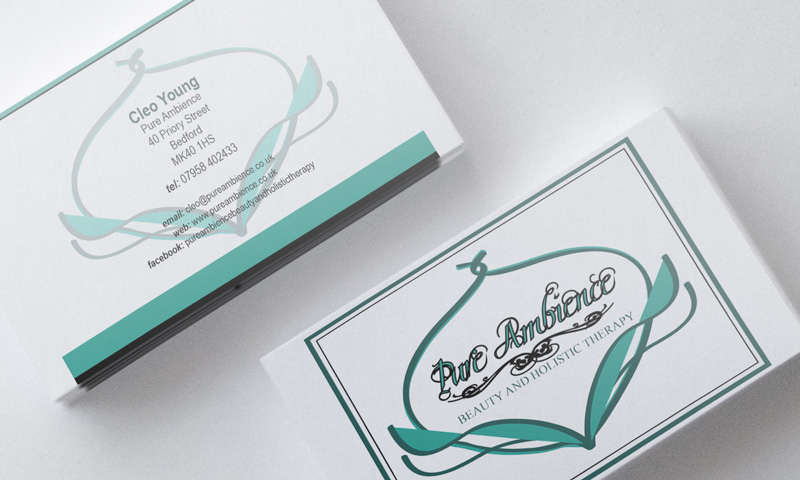 Business Cards Beauty Therapist